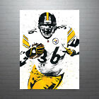 Jerome Bettis Pittsburgh Steelers Poster FREE US SHIPPING $14.99 USD on eBay