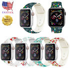 Christmas Replacement silicon Wrist Sport Band Strap For Apple Watch Series 5 4 image