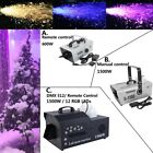 600W / 1500W Stage DJ LED Snow Machine Snowflake Flake Maker Christmas Party