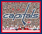 Washington Capitals Mosaic Print Art  Designed Using Past & Present Player Photo $42.0 USD on eBay