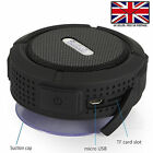BLUETOOTH WATERPROOF WIRELESS TRAVEL SPEAKER WITH MIC For ZTE Tempo Go