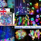 1/3/5pcs LED Fairy String Lights Wedding Party Christmas Decoration  Multi Color