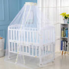 Round Dome Baby Mosquito Net Toddler Bed Crib Canopy Netting Tent New image