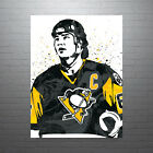 Mario Lemieux Pittsburgh Penguins NHL Hockey Poster FREE US SHIPPING $35.0 USD on eBay