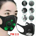 5Pcs PM2.5 Dust Mask Respirator Anti Pollution Air Face Masks Washable Reusable