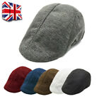Boys Mens Flat Cap Beret Cabbie Hat Country Peaky Newsboy Golf Driving Hat Caps