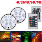 40 Submersible LED Light Waterproof Hot Tub Underwater Lights Swimming Pool Pond