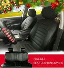 PU Leather Car Seat Covers Cushion Set Front/Rear for Dodge 8209 $89.95 USD on eBay
