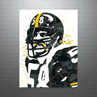 Jack Lambert Pittsburgh Steelers Poster FREE US SHIPPING $14.99 USD on eBay