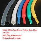 4mm-52mm Heat Shrink 4:1 Tube Car Cable Wire Electrical Sleeving All Colors