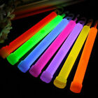 24/48Pc Glow Sticks 15cm Hook Wand Light Party Outdoor Fishing Camping Emergency