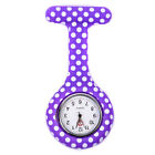 Fashion Clip-on Fob Silicone Brooch Medical Quartz Pocket Nurses Watches Women