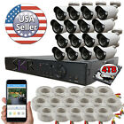 Sikker 16 Channel DVR 1080P Surveillance Security Camera System with hard drive
