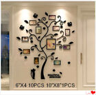 Home Decor 3d Acrylic Gloss Photo Frame Wall Stickers Art Decoration Family Tree