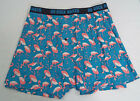 Duluth Trading Co Mens Buck Naked Performance Boxer Flamingo Print 76714