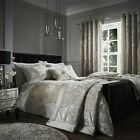Catherine Lansfield Crushed Velvet Natural - Duvet Bedding Set