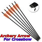 """6Pcs 16-22"""" Crossbow Bolts Mix Carbon Arrows for Crossbow Hunting Archery Hunter"""