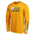 Pittsburgh Steelers Men's Long Sleeve Slogan Tee - New With Tags - FREE SHIP! $19.99 USD on eBay
