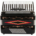 Rossetti Piano Accordion 72 Bass 34 Keys 5 Switches Black