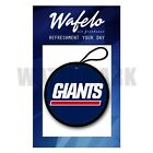 New York Giants Wafelo Air Freshener Hanging Car and Home Fragrances $14.89 USD on eBay