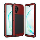 Samsung Galaxy Note 20 S20 S10 9 Metal Shockproof Aluminum HEAVY DUTY Case Cover