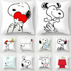 Home Decor Cute Snoopy Pillow Case Car Bedroom Sofa Pillowcase Dog Cushion Cover image