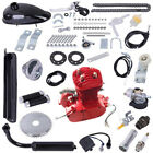 Full Set 80cc Bike Bicycle Motorized 2 Stroke Petrol Gas Motor Engine Kit Set US