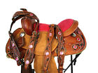 12 13 USED WESTERN SADDLE YOUTH KIDS SHOW TRAIL CHILD BARREL RACING HORSE TACK