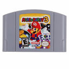 FixedPricenintendo n64 game mario party 3 2 1 video game cartridge console card us version