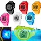 SYNOKE Child Watches Waterproof LED Digital Watch Men Outdoor Sports Wrist Watch image