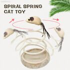 Disc Spring Cat Toy Elastic Spring Mouse Playing Kitten Sturdy Funny Cat Toy