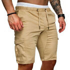 US Mens Cargo Shorts Casual Summer Military Army Combat Camo Half Pants Tactical