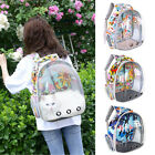 Breathable Pet Carrier Dog Cat Backpack Space Capsule Astronaut Travel Foldable