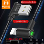 Mcdodo 90 Degree Lightning USB Charger Cable Fast Charging for iPhone 11 X 8 7 6