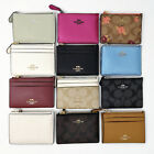 NWT COACH Mini Skinny ID Window Case Wallet Key Ring image