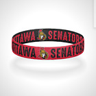 Reversible Ottawa Senators Bracelet Wristband United in Red $11.0 USD on eBay