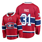 Carey Price Montreal Canadiens 31 Stitched jersey Red White mens player game