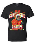 Kansas City Chiefs 2019 AFC Conference Champions T Shirt Size S M L XL 2XL 3XL