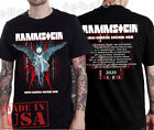 Rammstein T-shirt North America Stadium Tour 2020 Rock Industrial Music tee ! image
