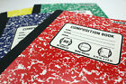 "Unison Composition Notebook 4-pack - Wide Ruled - 9.75"" x 7.5"" - 80 pages - NEW"