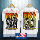 KISS End Of The Road World Tour 2020 Leg 5 - 8 Complete Dates Concert T-shirt ! image