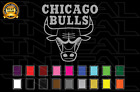 Chicago Bulls Basketball Team Logo NBA Vinyl Decal Sticker Car Window Wall on eBay
