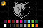 Memphis Grizzlies Basketball Team Logo NBA Vinyl Decal Sticker Car Window Wall on eBay