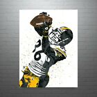 Hines Ward Pittsburgh Steelers Poster FREE US SHIPPING $14.99 USD on eBay