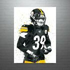 Minkah Fitzpatrick Pittsburgh Steelers Poster FREE US SHIPPING $14.99 USD on eBay