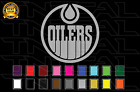 Edmonton Oilers Hockey Team Logo NHL Vinyl Decal Sticker Car Window Wall $19.3 USD on eBay