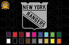 New York Rangers Hockey Team Logo NHL Vinyl Decal Sticker Car Window Wall $18.31 USD on eBay