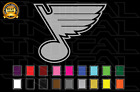 St. Louis Blues Hockey Team Logo NHL Vinyl Decal Sticker Car Window Wall $7.72 USD on eBay