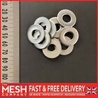 M10 (10mm) Form A Flat Washers For Metric Bolts & Screws A2 Stainless Steel