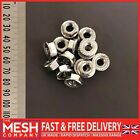 M8 (8mm) Flanged Nut For Metric Bolts and Screws A2 (304 Grade) Stainless Steel